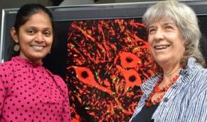Ms Vidya Saraswathy Krishnan & Emeritus Professor Miranda Grounds